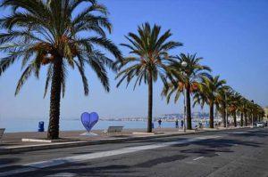 Promenade des anglais Nice Cote d'Azur