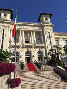 Visite de san remo, Casino San remo Italie