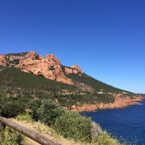 Corniche d'or massif esterel,