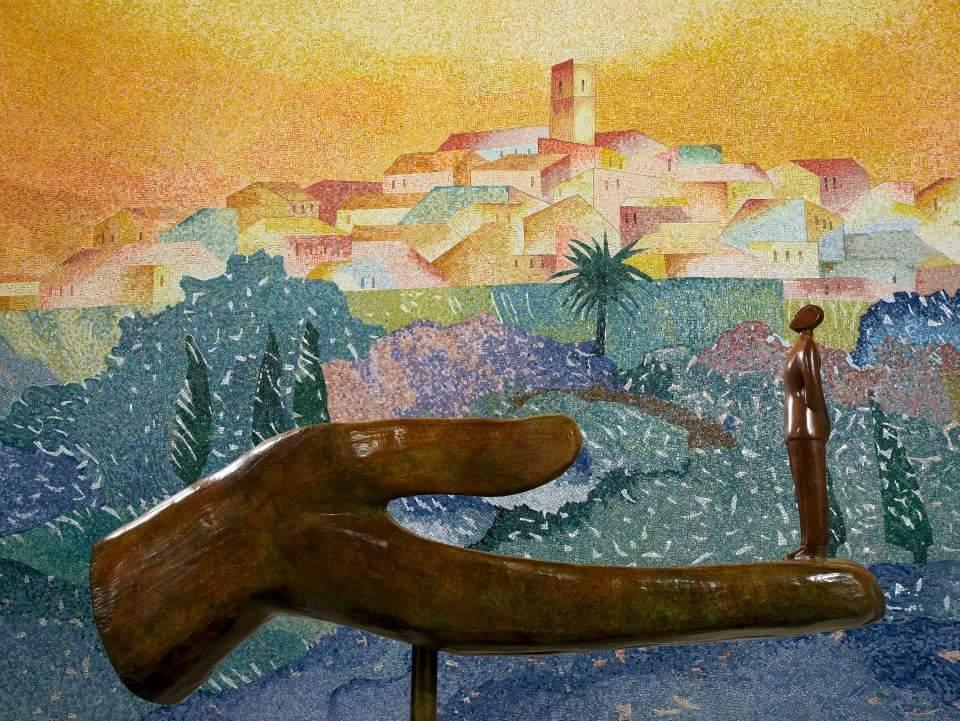 Chapelle Folon visite thématique les artistes a st paul de vence
