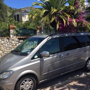 transport van véhicule privé avec chauffeur