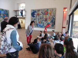Fondation Maeght saint Pauld e vence, visite guidée enfants