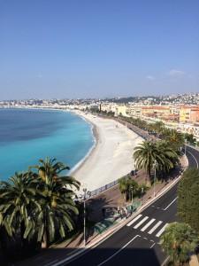 Nice capitale de la Côte d'Azur et la promenade des Anglais