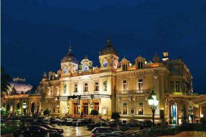 Casino Monte Carlo by night