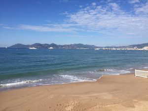 Baie cannes, Côte d'Azur visite guidée