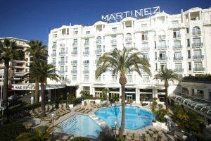 cannes et ses hotels de luxe, croisette cote d'Azur