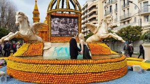 Menton cote d'Azur fete du citron