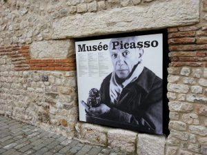 Musée Picasso, antibes, visite guidée