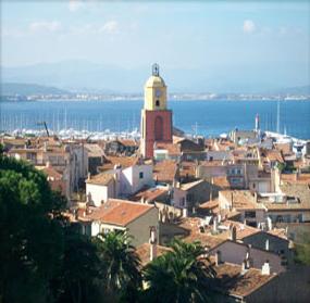 Saint Tropez et golfe de saint Tropez, massif des maures, Provence