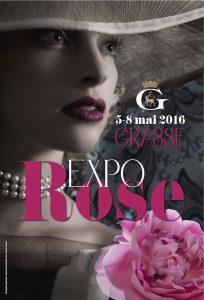 expo rose mois de mai, Grasse