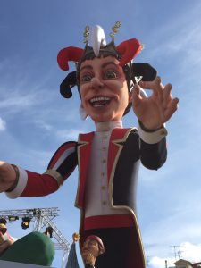 Carnaval de Nice, le roi Place masséna