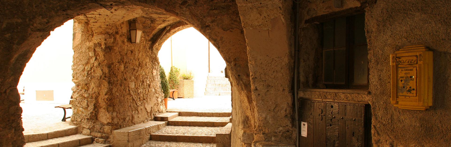 Sainte agnes village perché découverte