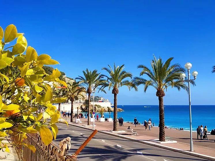 French Riviera Nice vers Monaco