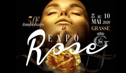 expo rose mois de mai, Grasse 2020
