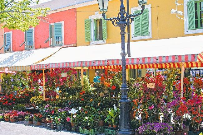 Marché aux fleurs Nice, visite guidée